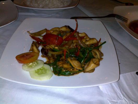 menu dinner