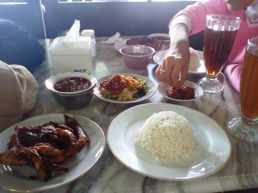 taliwang menu