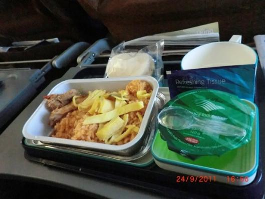 makan sore di garuda indonesia