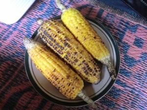 jagung manis bakar