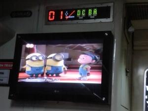 TV kereta api
