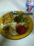 makan siang di kantin salman