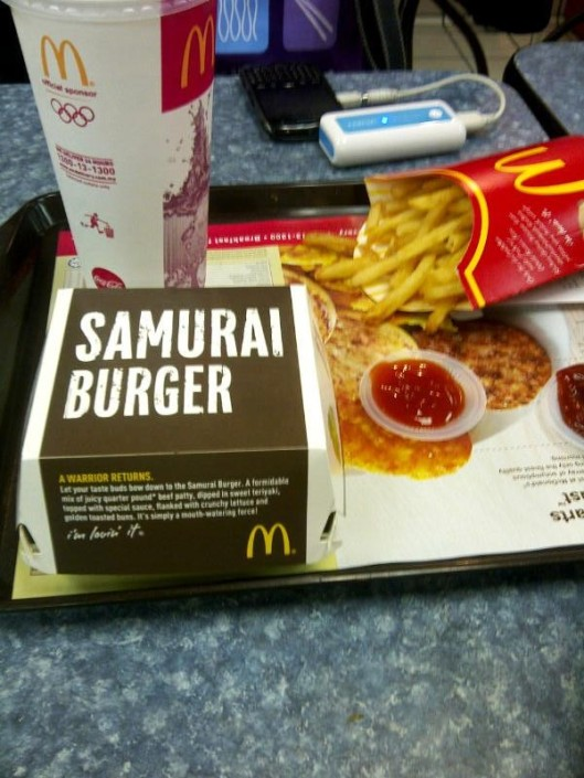 6.Samurai Burger