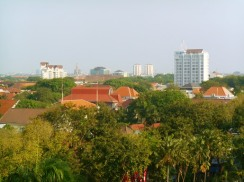 surabaya skyline from mercure