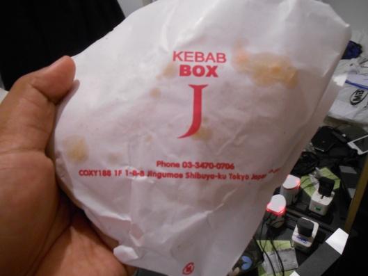 bungkus kebab j