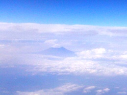 puncak gunung fuji