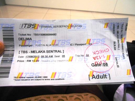 2 tiket bus