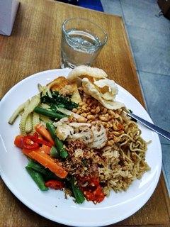 menu sarapan TG lounge @ngurah rai