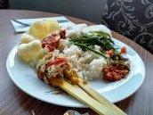 sarapan nasi bali @horison nusa dua