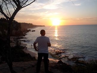sunset @ pantai tegalwangi