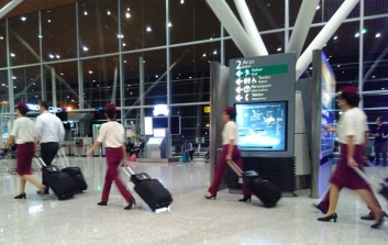 awak kabin qatar airways
