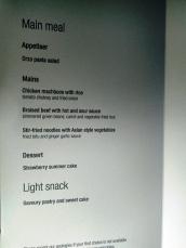 menu makan malam