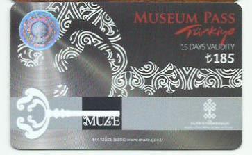museum pass turkey 15 days