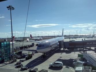 Airbus 330-300 Istanbul Doha