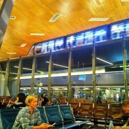 ruang tunggu 13 C Doha Hammad Airport