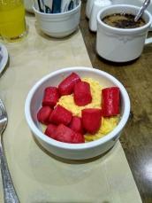 sosis turki dengan omelet