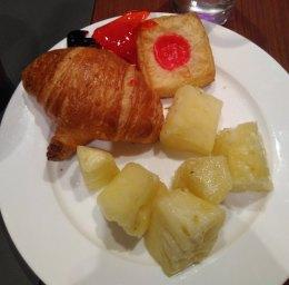 croissant dan nanas