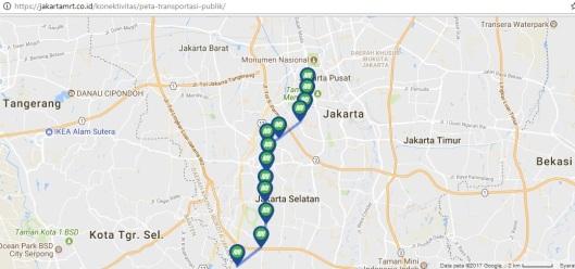 koridor 1 MRT Jakarta