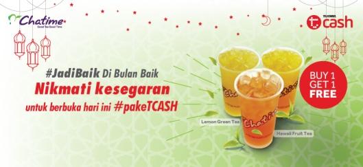 promo tcash chatime ramadan