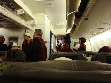 proses naik pesawat