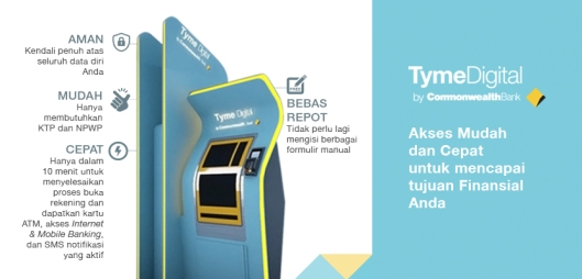 Mesin Tyme Digital Kiosk