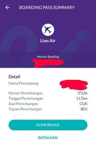 scan boarding pass Lion dapat 20 ribu OVO point