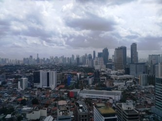 jakarta from 20 th floor national library