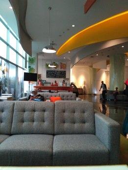 lobi hotel harris