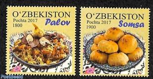 makanan uzbekistan