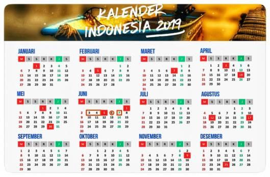 Kalender 2019 Indonesia Asambackpacker01 S Blog