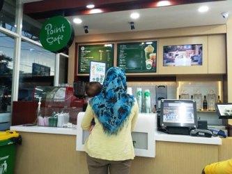 point cafe banjarbaru