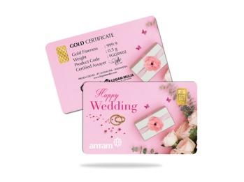 gift happy wedding 0,5 gram