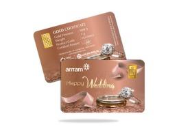 gift happy wedding 1 gram