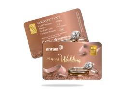 gift happy wedding 1 gram