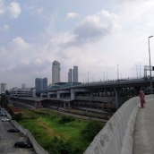 jembatan lewat JB sentral antara erya dengan jalan tan hok nee