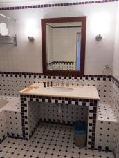 meja kamar mandi