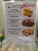 menu sarawak bowl xpress