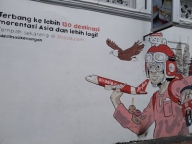 mural air asia