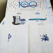 souvenir for 100th KLM