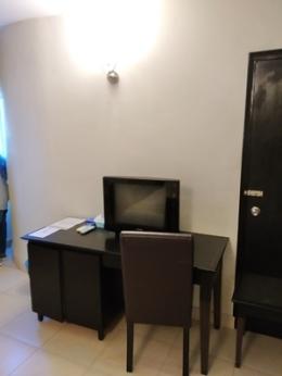 TV and work desk erya