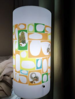 lampu motif wayang